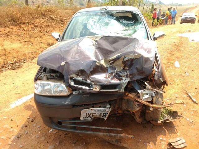 Casal morre atropelado por motorista sem habilitação