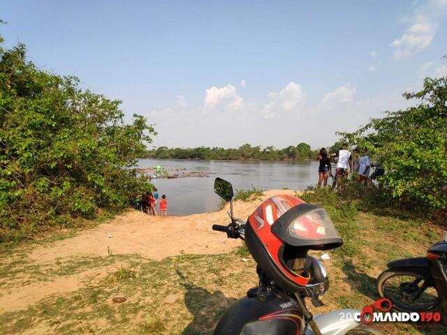 Jovem morre afogado no rio Machado