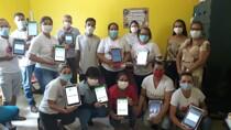 Prefeitura de Candeias entrega 49 tablets a agentes comunitários de saúde