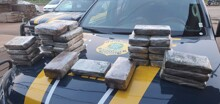 PRF apreende 31 quilos de droga na BR-364 em Porto Velho