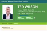 Justiça indefere registro de candidatura de Ted Wilson à Prefeitura; vice vai ser indicado