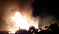 Vídeo: Crianças são resgatadas de incêndio em casa e caminhão de gás