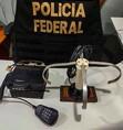 PF prende mulher com rádio de longo alcance