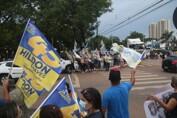 Pit stops nas ruas de Porto Velho demonstram popularidade do prefeito Hildon Chaves