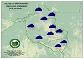 Sexta-feira terá friagem com chuva em todo o Estado, segundo o Sipam