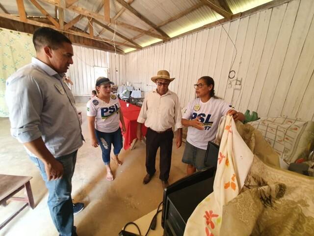 Sargento Eyder Brasil reforça apoio de lideranças na reta final