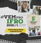 IFRO inicia seleção para duas mil vagas em cursos técnicos