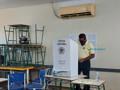 Pimenta de Rondônia é o primeiro candidato a prefeito a votar na Capital e diz ter certeza que vai ao 2º turno