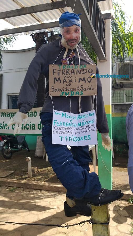 Servidores da Saúde mantém greve em Porto Velho e fazem manifestações