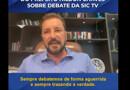 """Hildon Chaves revela """"arapuca"""" de assessores de Cristiane para evitar embate direto na SIC TV"""