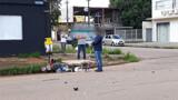 Motociclista fica gravemente ferido em acidente na Capital