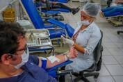 No Dia Nacional do Doador de Sangue, Fhemeron alerta que precisa de reposição de estoques