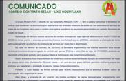 Amazon Fort emite nota sobre a paralisação na coleta de lixo hospitalar em Rondônia