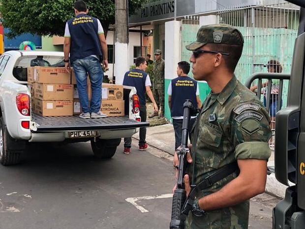 TSE autoriza envio de Força Federal para Rio Branco