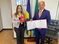 Coronel Chrisóstomo é homenageado e condecorado pela Justiça em Brasília