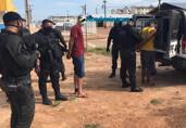 Operação da Polícia Penal prende 20 apenados no Orgulho do Madeira