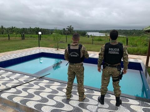PF cumpre mandados em operação contra grande traficante de Rondônia