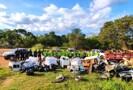Mais de 7 toneladas de lixo são retiradas do rio Guaporé