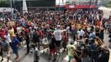 Multidão protesta contra decisão do Governo de fechar comércio no Amazonas por causa do Coronavírus