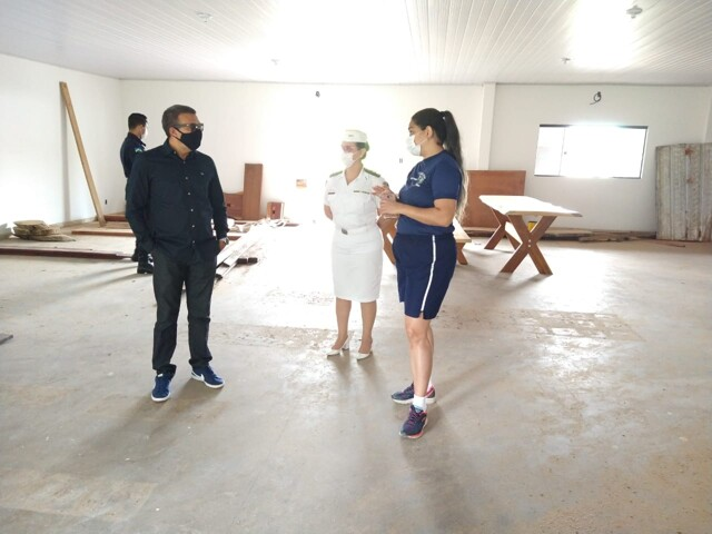 Segurança Pública: Deputado Alex Silva visita coordenadoria da Polícia Militar em Porto Velho