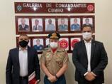 Deputado Alex Silva recebe reconhecimento do Corpo de Bombeiros de Rondônia