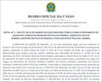 Publicado edital do concurso da Polícia Federal com 1.500 vagas; confira