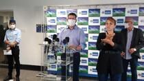 Ao vivo: Governador fala sobre chegada das doses da vacina contra Coronavírus em Rondônia