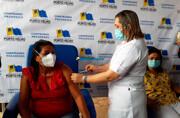 Porto Velho inicia vacinação de profissionais de saúde