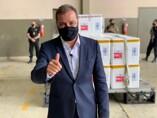 Prefeito Hildon Chaves acompanha a chegada da vacina contra o Coronavírus em Porto Velho