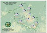 Chuva predomina em todo o Estado nesta sexta-feira