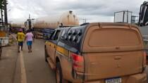 Vídeo: Carretas com oxigênio que seguiram pela BR-319 chegam a Manaus neste domingo