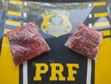 PRF apreende mais de 4 kg de cloridrato de cocaína