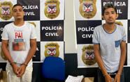 Mais dois envolvidos em roubo de caminhonetes são presos na Capital