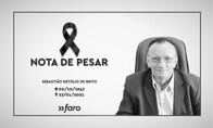 Nota de pesar pelo falecimento do professor Sebastião Getúlio de Brito