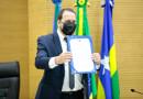 Deputado Alex Redano é empossado presidente da Assembleia Legislativa e defende diálogo