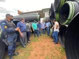 Deputado Laerte Gomes acompanha entrega de recursos destinados á infraestrutura rural de Teixeirópolis