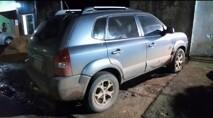 Dupla é presa pela PM com Hyundai Tucson roubado
