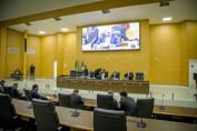 Sessão da ALE será no domingo; deputados vão analisar projetos sobre poder de Polícia e de destinação de R$ 150 milhões para vacinação
