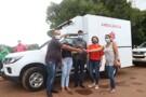 Jaqueline Cassol entrega ambulância e anuncia recursos para Alto Alegre dos Parecis