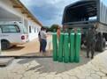 Cone Sul de Rondônia recebe 45 cilindros de oxigênio para abastecimento de unidades hospitalares
