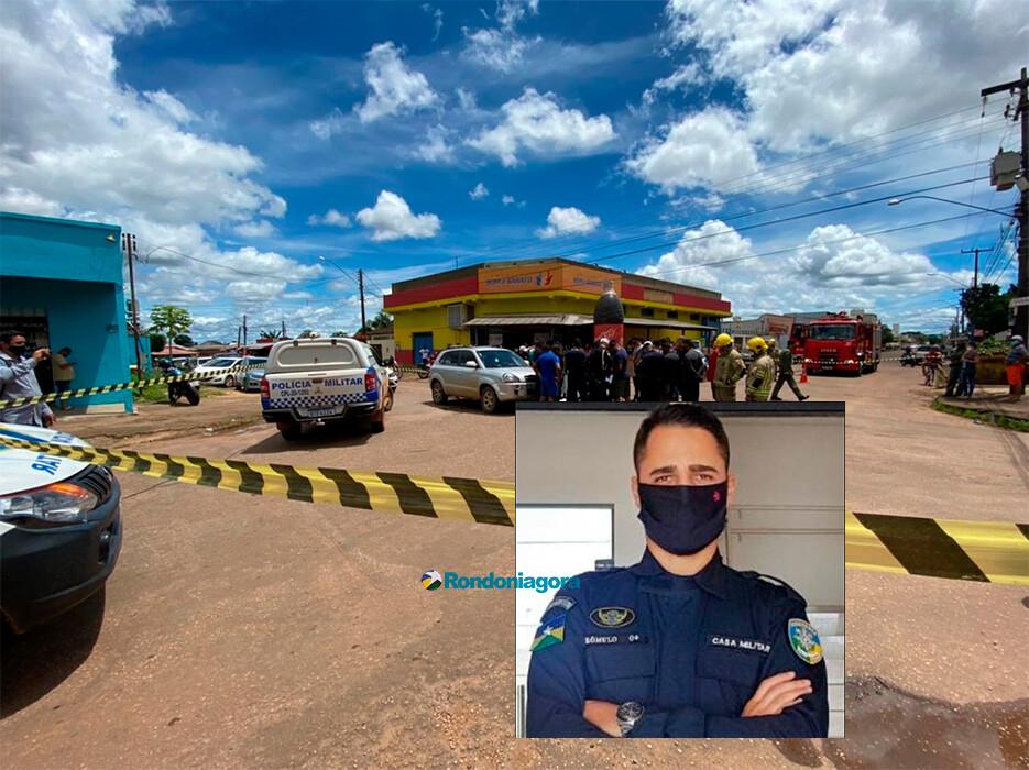 Policial militar morre em grave acidente na Zona Sul de Porto Velho