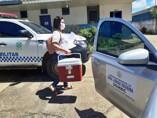 Escolta armada no transporte de vacina contra Covid-19 garante entrega do imunizante no interior de Rondônia