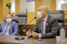 Ismael Crispin agradece governador pela atenção com a Lei do Zoneamento