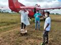 Grupo de Operações Aéreas leva vacinas para locais de difícil acesso em Rondônia e no Amazonas