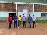 Marcelo Cruz fiscaliza últimos detalhes da construção da Fábrica de Gelo em Ji-Paraná
