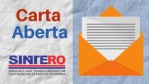 Sintero argumenta que retorno das aulas presenciais em Rondônia representa atentado à vida