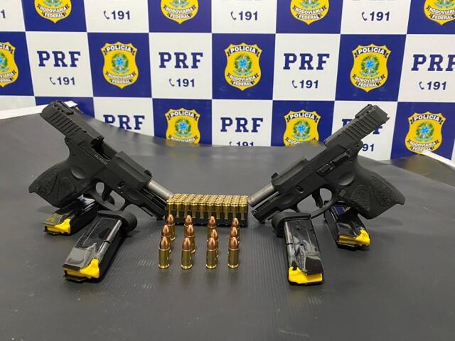 PRF prende supostos homens de negócios com armas e munições