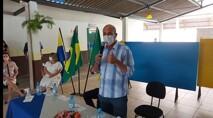 Em Rolim de Moura, Ismael Crispin entrega reforma da escola, viabilizada com emenda parlamentar de sua autoria