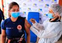 Mais de 20 mil profissionais da saúde já foram vacinados em Porto Velho