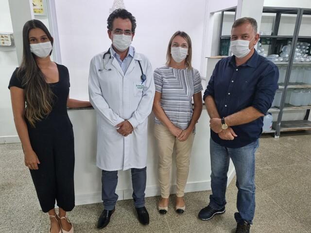 Em visita a centro de hemodiálise, Mosquini garante serviços idênticos de qualidade em Jaru
